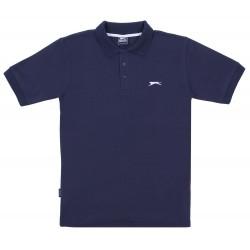Granatowa koszulka polo Slazenger