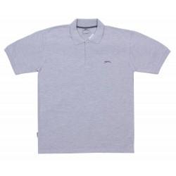 Szara koszulka polo Slazenger