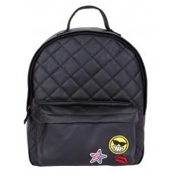 Czarny, pikowany plecak PRIMARK ATMOSPHERE