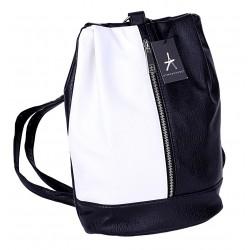 Czarno-biały plecaczek PRIMARK ATMOSPHERE