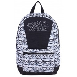 White/Black Backpack, Knapsack, Rucksack Stormtroopers Design STAR WARS DISNEY