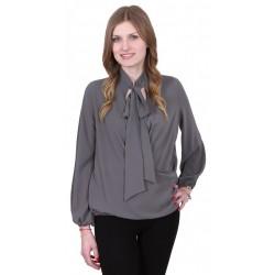 ASOS Elegancka szara bluzka z kokardą
