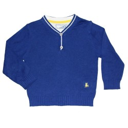 Granatowy sweter POLO REBEL PRIMARK