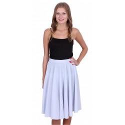 ASOS Błękitna, rozkloszowana spódnica midi