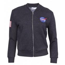 Szara, rozpinana bluza NASA PRIMARK