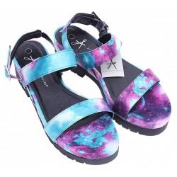 Kolorowe sandały, platforma PRIMARK ATMOSPHERE