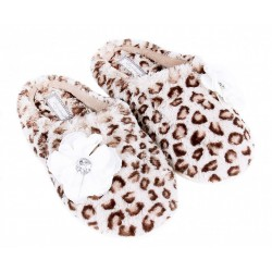 Warm&Cosy Leopard Print Slippers