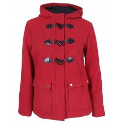 Czerwony płaszczyk z kapturem PRIMARK