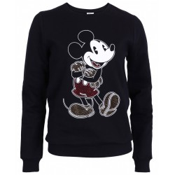 DISNEY Mickey Mouse Girls Womens Classic Sweatshirt, Jacket, Top