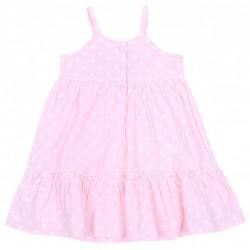 Różowa sukienka w groszki, falbanki PRIMARK YD