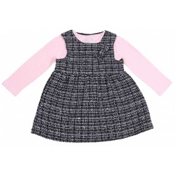 Infants Pretty Dress + Pink Blouse YD