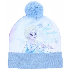 Blue Winter Hat Elsa Design DISNEY FROZEN