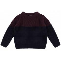 Granatowy sweterek PRIMARK
