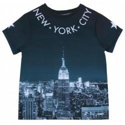 Niebieska koszulka NEW YORK PRIMARK