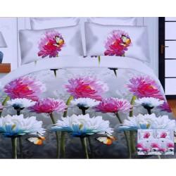3D Gerberas Duvet Cover & Two Pillowcases Set 200x220 RUI BANG