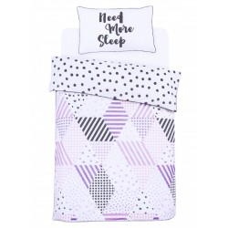 Bedding set NEED MORE SLEEP 135x200