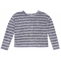 Szara bluzeczka w paski PRIMARK
