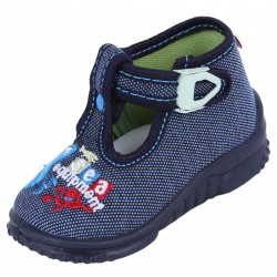 Boys Navy Blue/Sea Equipment Shoes, Slippers, Mary Jane, Sandals LEMIGO