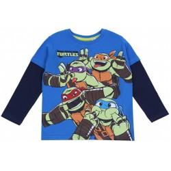 Niebieska bluzka Wojownicze Żółwie Ninja NICKELODEON