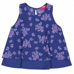 Trapezowa bluzeczka kwiaty/motyle YD PRIMARK