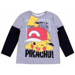 Szara koszulka Pikachu POKEMON