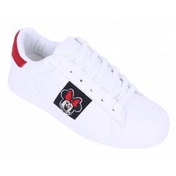 Białe adidasy, tenisówki Myszka Minnie
