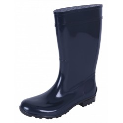 Ladies, Navy Blue, PVC, Wellies, Wellington, Rain Boots ILSE LEMIGO