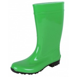 Ladies, Green, PVC, Wellies, Wellington, Rain Boots ILSE LEMIGO