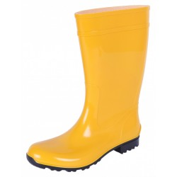 Ladies, Yellow, PVC, Wellies, Wellington, Rain Boots ILSE LEMIGO