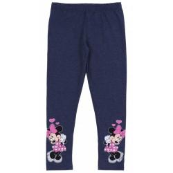 Granatowe legginsy Myszka Minnie Disney