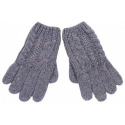 Szare rękawiczki pięciopalcowe PRIMARK