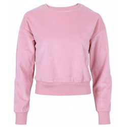Pink Velour sweater PRIMARK