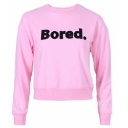 Pudroworóżowa bluzka Bored PRIMARK