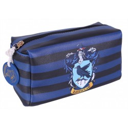 Black/Blue Striped, Ravenclaw Crest, Wash Bag HARRY POTTER