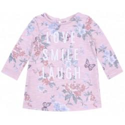 Różowa sukienka, tunika Love PRIMARK