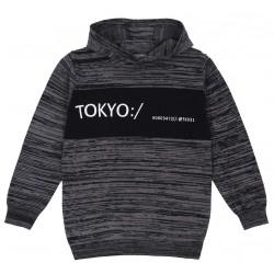 Melanżony sweterek z kapturem PRIMARK