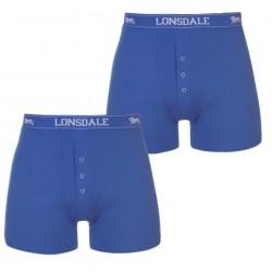2 x niebieskie bokserki LONSDALE LONDON