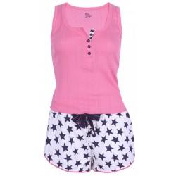 Różowa piżama w gwiazdki PRIMARK ATMOSPHERE