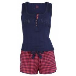 Czerwono-granatowa piżama PRIMARK ATMOSPHERE