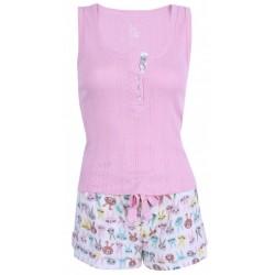 Różowa piżama w króliki PRIMARK