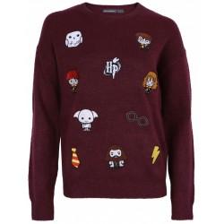 Burgubdowy sweter HARRY POTTER