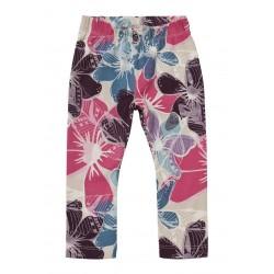 Kolorowe legginsy/getry w kwiaty