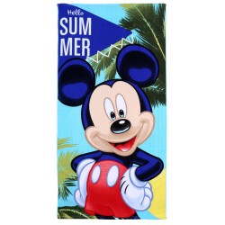 Ręcznik plażowy 70x140 Myszka Mickey DISNEY