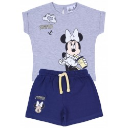 Szara bluzka + spodenki Myszka Minnie DISNEY