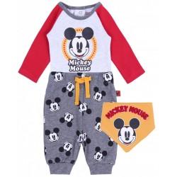 Body + spodnie + śliniak Myszka Mickey DISNEY