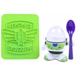 Podstawka na jajko + stempel do tostów Toy Story