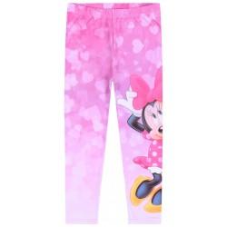Różowe legginsy, getry Myszka Minnie DISNEY