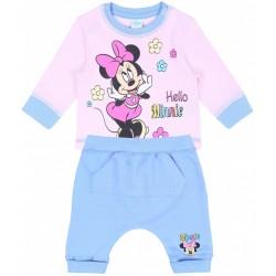 Niebiesko-różowy komplet niemowlecy  Minnie DISNEY