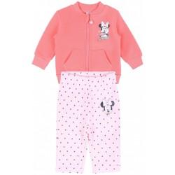 Różowy dres w kropki, Myszka Minnie DISNEY