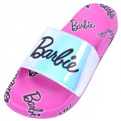 Różowe klapki Barbie